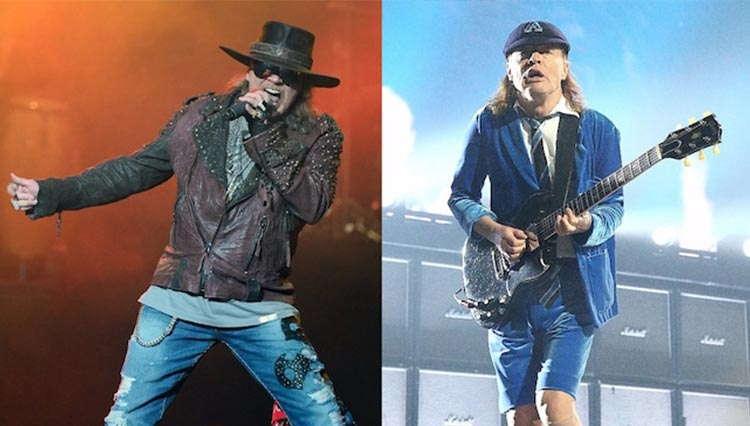 اکسل رز خواننده گروه AC/DC شد