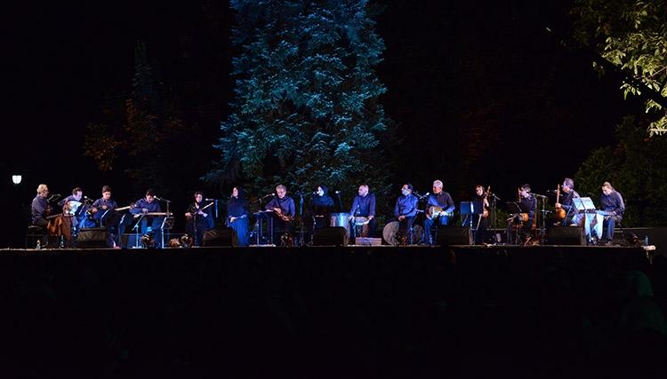 کامکارها نخستین اجرای «شبهای موسیقی بارانا» را برگزار کردند