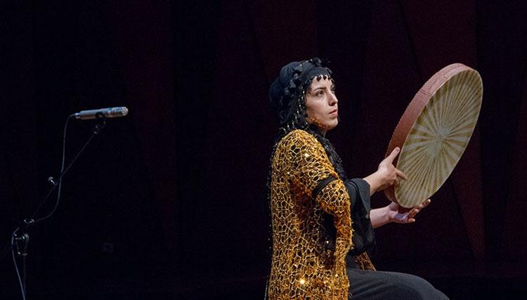 حضور پرشور دفنوازان زن در جشنواره موسیقی جوان