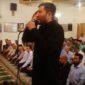 اذان گویی فرزند حبیب در مسجد