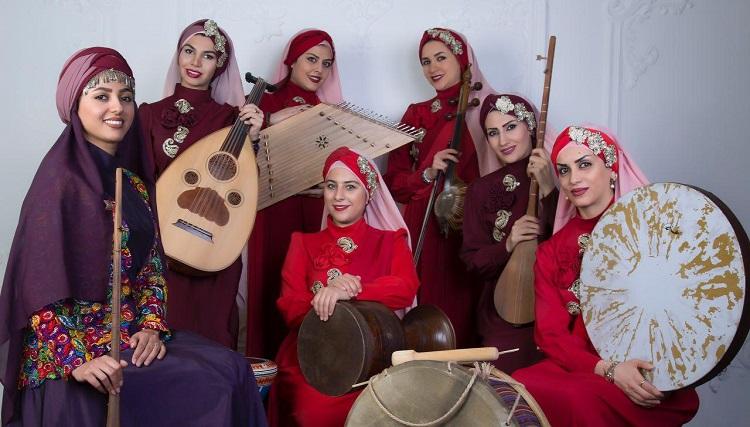 همخوانی گروه موسیقی «نازار» در فرهنگسرای نیاوران