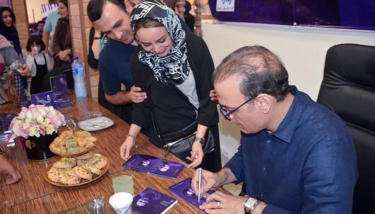 رونمایی آلبوم «فروغ» علیرضا قربانی در تبریز