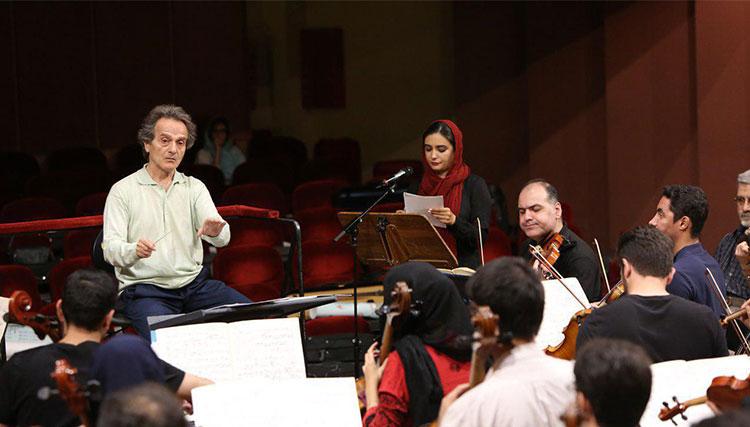 لیندا کیانی راوی اجرای ویژه ارکستر سمفونیک تهران شد