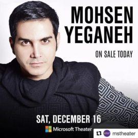 کنسرت محسن یگانه لس آنجلس