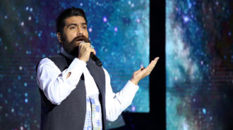 کنسرت علی زندوکیلی در قالب سی و سومین جشنواره موسیقی فجر برگزار شد