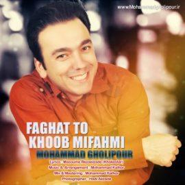 دانلود آهنگ فقط تو خوب میفهمی از محمد قلی پور