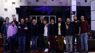 لودوویکو اینائودی برای برگزاری کنسرت وارد تهران شد