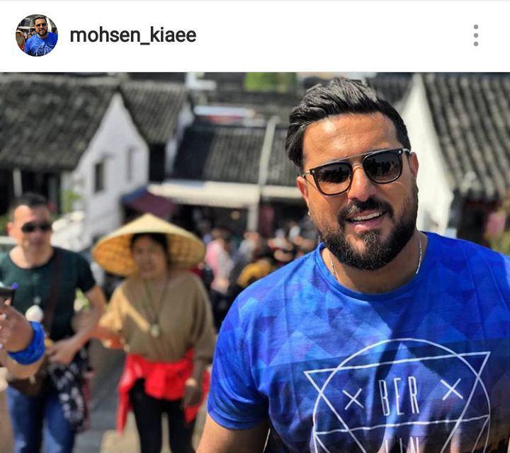 محسن کیایی بازیگر محبوب سینما