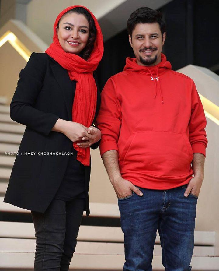 جواد عزتی و همسرش مه لقا