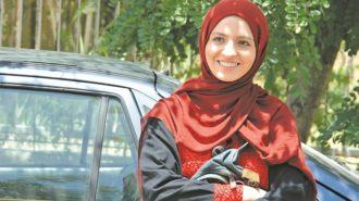 پوشش عجیب گلاره عباسی بازیگر زن سریال شهرزاد در کویر + عکس