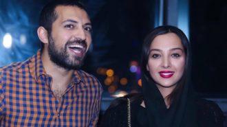 خوشحالی خاص «اشکان خطیبی» در کنار همسر معروفش + عکس