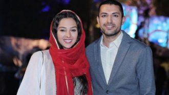 تیپ جدید اشکان خطیبی و همسرش + عکس