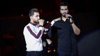 استقبال بینظیر از کنسرت ماکان بند در آذربایجان غربی