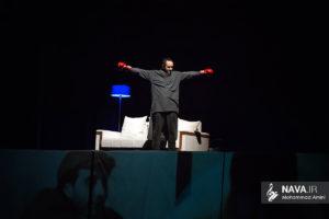 عکس کنسرت 10 سال تنهایی