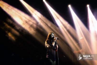 عکس کنسرت امیرعباس گلاب بندرعباس