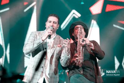 عکس کنسرت امید حاجیلی 28 آبان 97