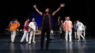 اجرای مشترک نوازندگان بینالمللی نی انبان و درخشش نی انبان ایرانی در اسکاتلند