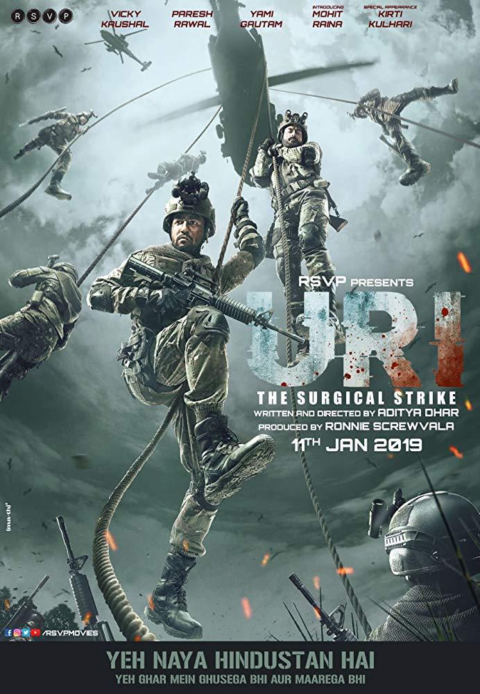 دانلود فیلم یوری: حمله جراحی 2019 دوبله فارسی (Uri: The Surgical Strike 2019)