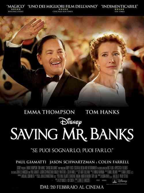 دانلود فیلم سینمایی Saving Mr Banks 2013 دوبله فارسی