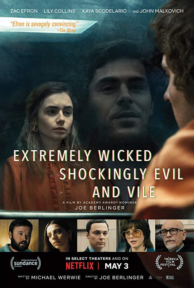 دانلودفیلم سینمایی Extremely Wicked Shockingly Evil and Vile 2019 (فوق العاده شرور به طرز شوکه کننده ای شیطانی و پست 2019)به همراه زیرنویس فارسی