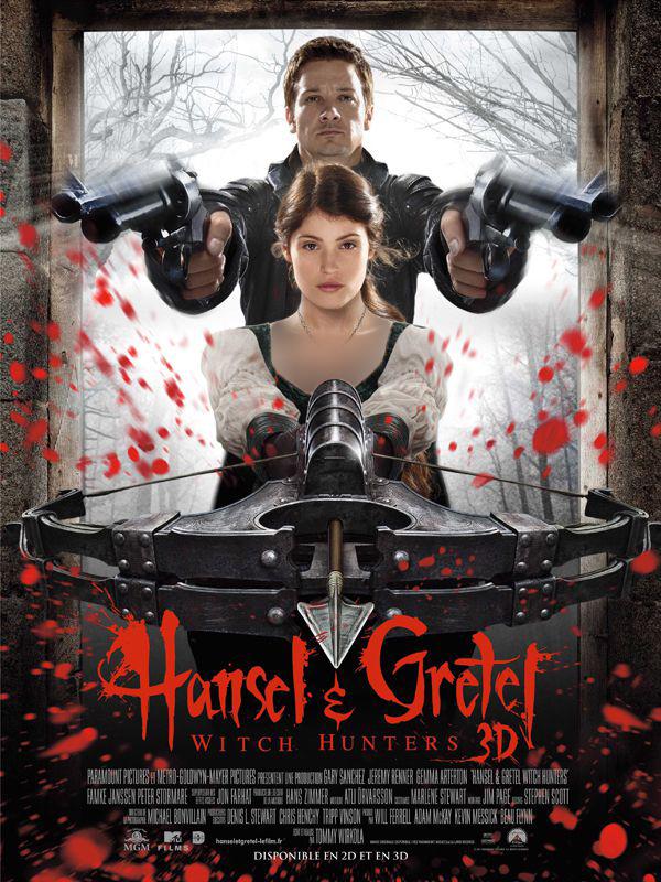 دانلودفیلم سینمایی Hansel and Gretel Witch Hunters 2013 ( هانسل و گرتل شکارچیان جادوگر ۲۰۱۳ )به همراه زیرنویس فارسی