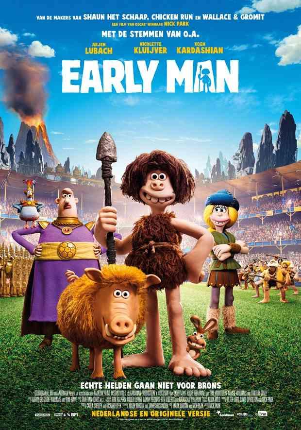 دانلود انیمیشن Early Man 2018 (نسان اولیه ۲۰۱۸) دوبله فارسی