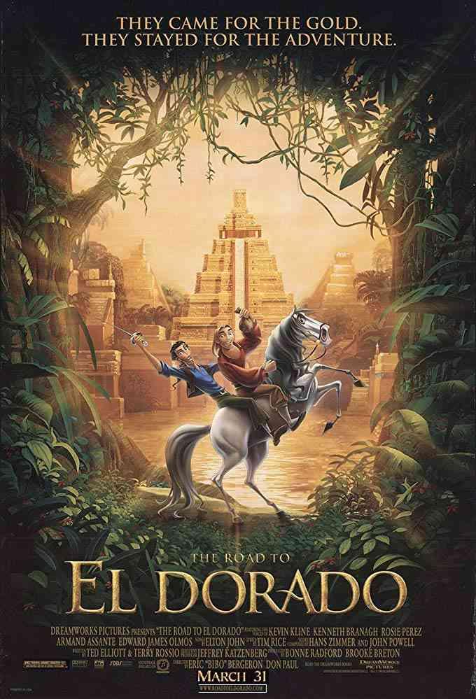 پوستر انیمیشنThe Road to El Dorado 2000