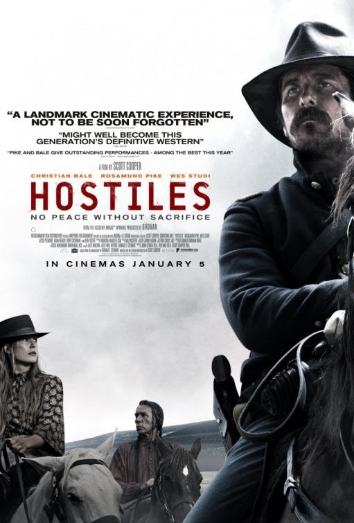دانلود فیلم Hostiles 2018 زیرنویس دوبله فارسی