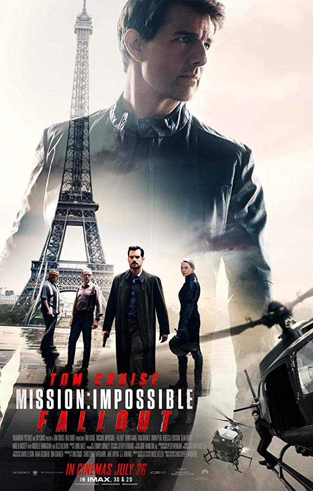 پوستر فیلممأموریت غیرممکن ۶ - فالاوت ۲۰۱۸