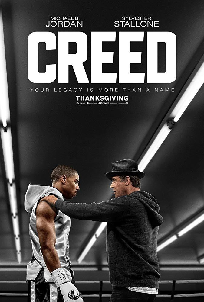 پوستر فیلمCreed 2015 بانقش آفرینی مایکل جوردن