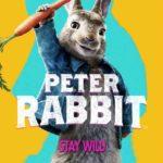 کاور انیمیشنپیتر خرگوشه ۲۰۱۸ با هنرمندی جیمز کوردن