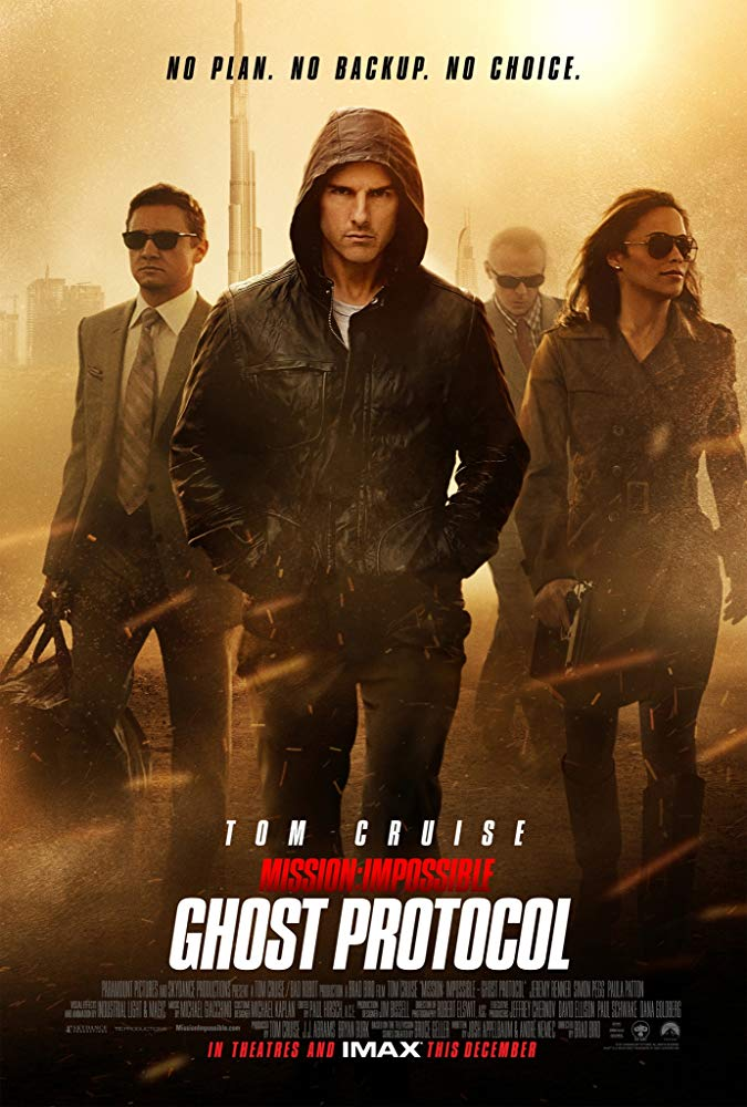 کاور فیلم Mission Impossible – Ghost Protocol 2011