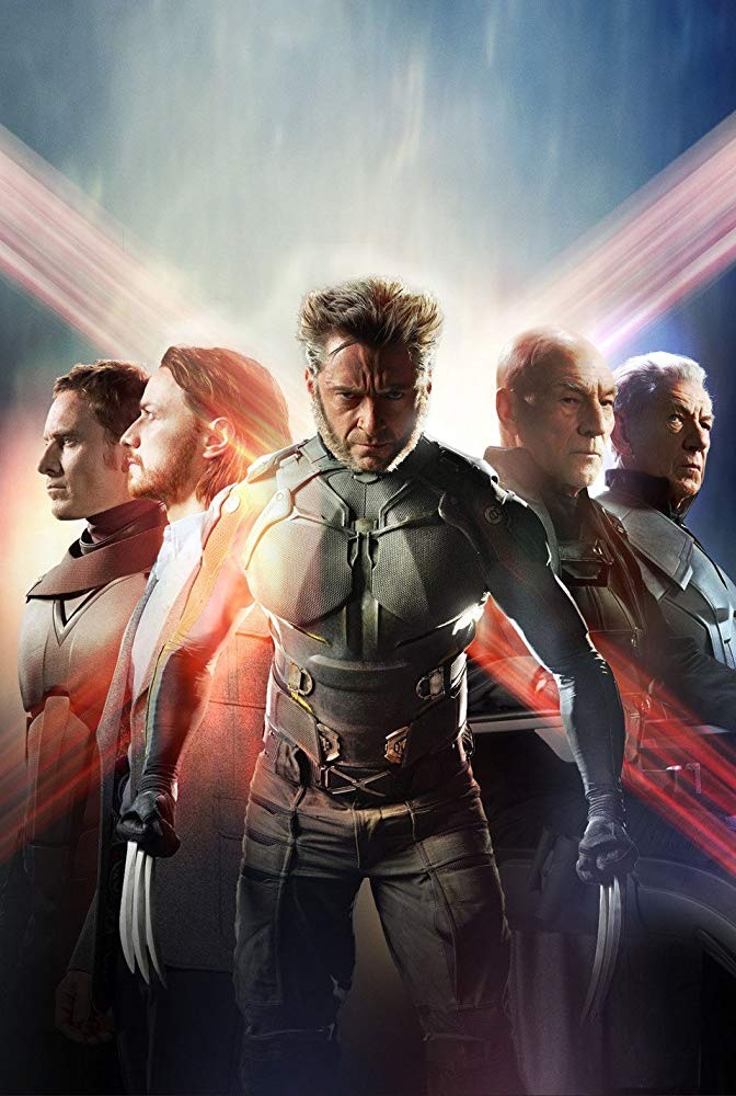 کاور فیلم X-Men Days of Future Past 2014