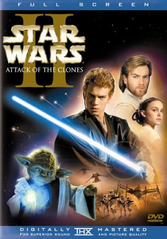 پوستر فیلمجنگ ستارگان ۲ حمله شبیه سازی شده ها