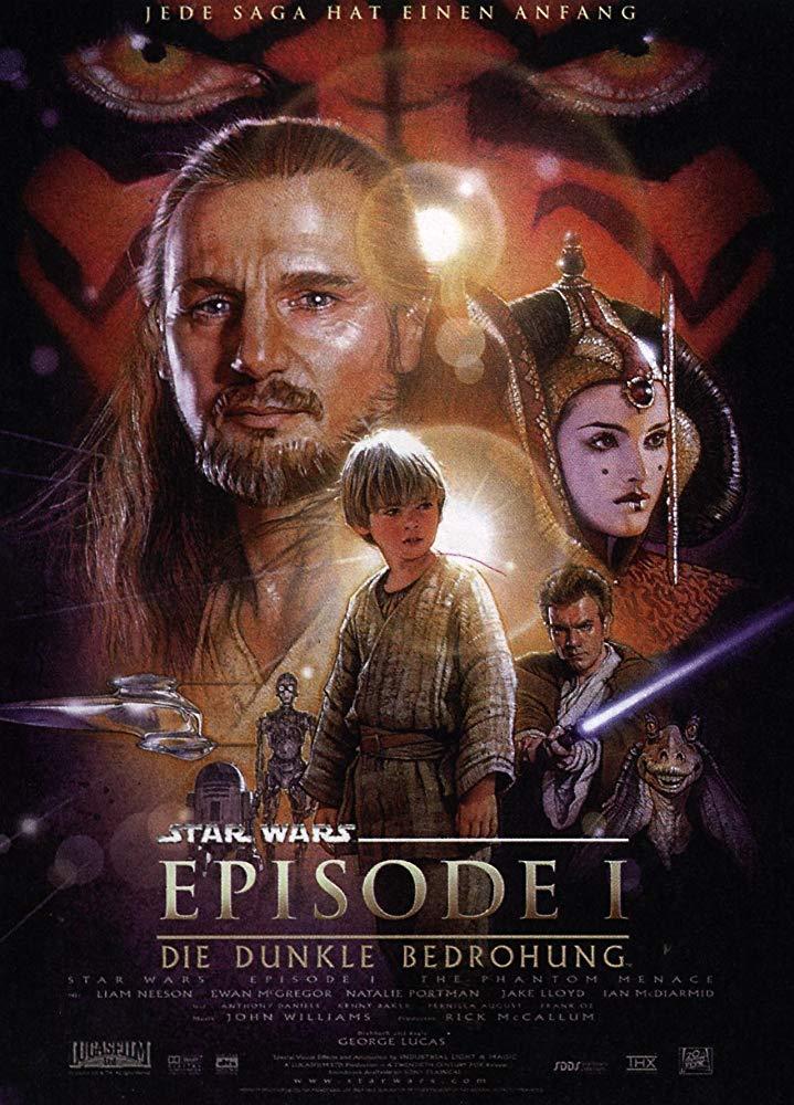 کاور فیلمStar Wars 1 The Phantom Menace 1999کاور فیلمStar Wars 1 The Phantom Menace 1999