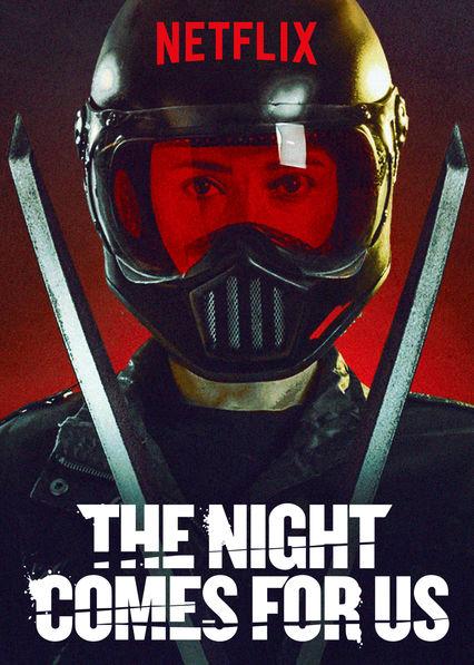 کاور فیلم The Night Comes for Us 2018