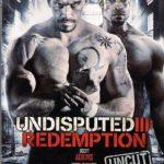 پوستر فیلمشکست ناپذیر ۳ رستگاری ۲۰۱۰