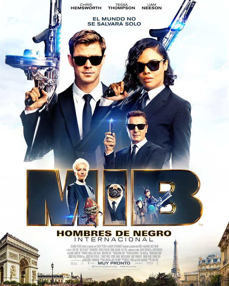 پوستر فیلممردان سیاه پوش ۴ بین الملل ۲۰۱۹