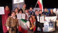 «خوش هنر» در مسابقات جهانى فولکلور یونسکو خوش درخشید