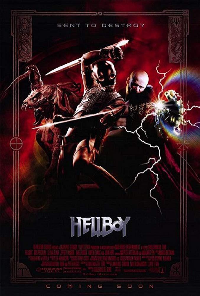 کاور فیلمHellboy 2004