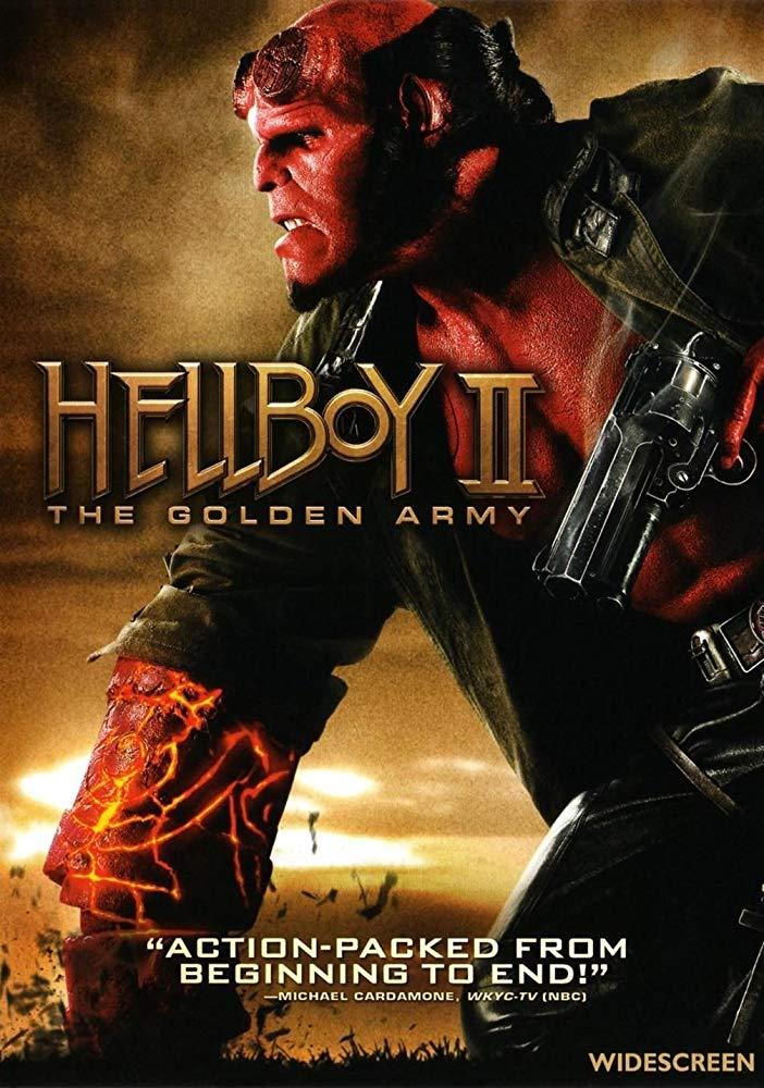کاور فیلمHellboy II The Golden Army 2008