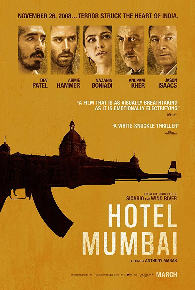 کاور فیلمHotel Mumbai 2018