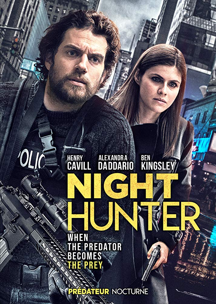 کاور فیلم Night Hunter 2018