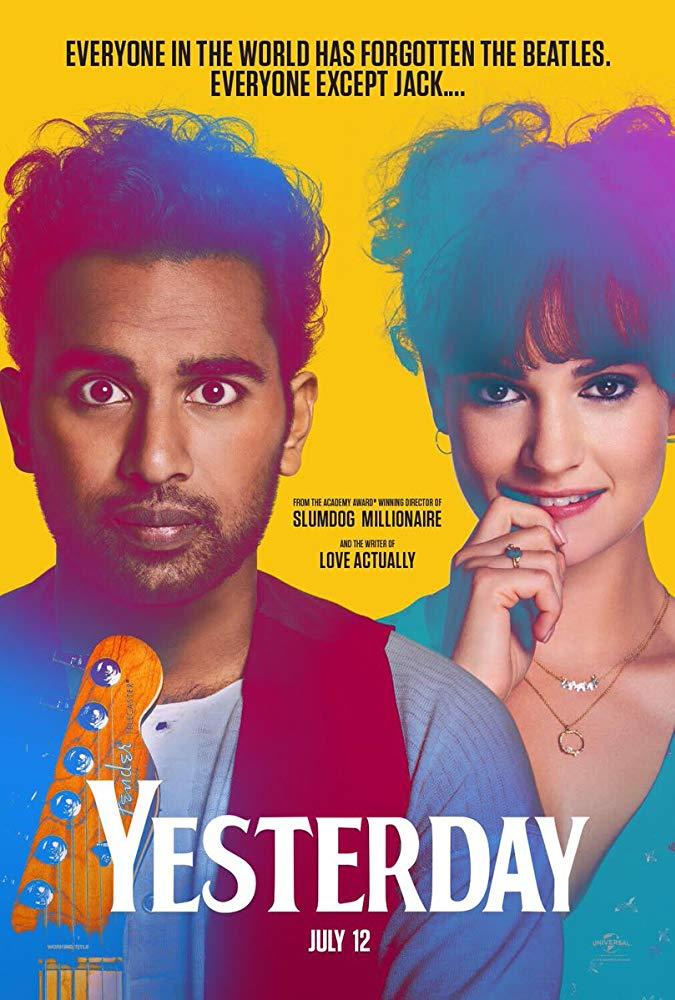 کاور فیلمYesterday 2019