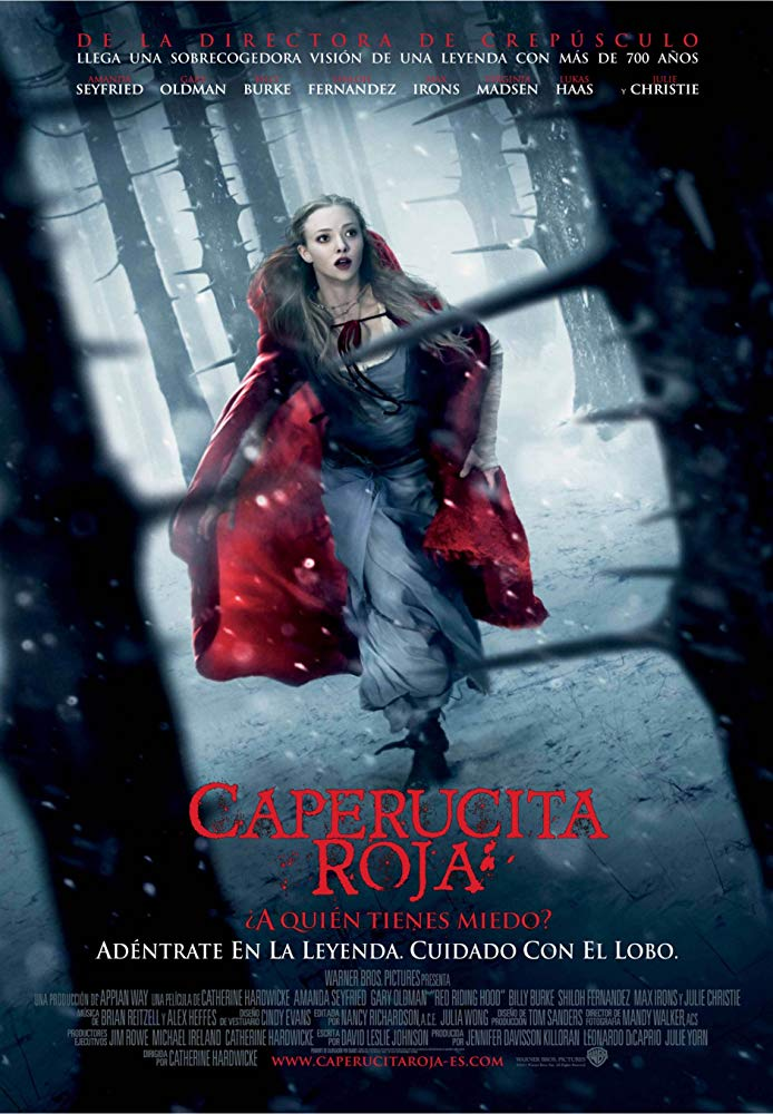کاور فیلمRed Riding Hood 2011
