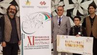 جایزهای بین المللی برای پارسا خائف/ استعداد ایرانی برنده فستیوال بینالمللی موسیقی موغام