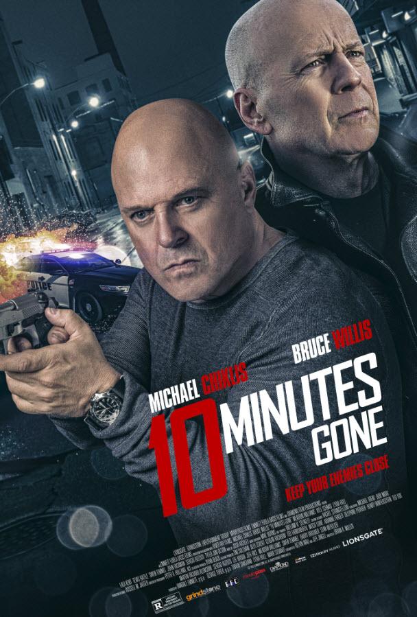کاور فیلم۱۰ Minutes Gone 2019
