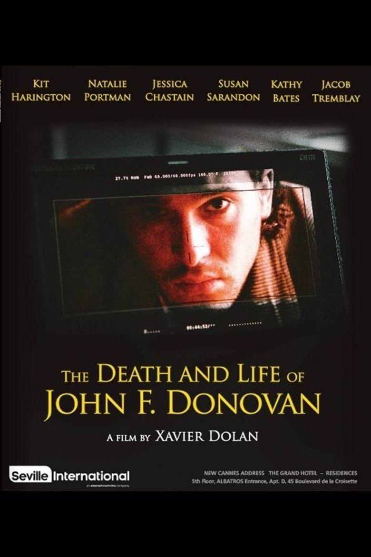 کاور فیلمThe Death and Life of John F Donovan 2018