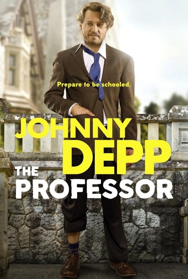 کاور فیلمThe Professor 2018