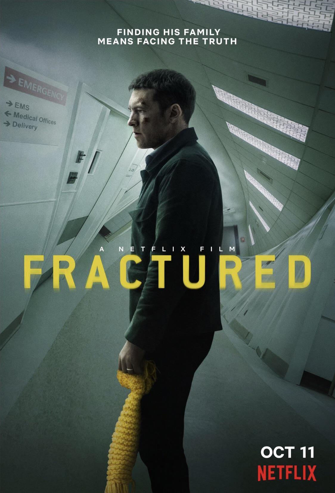 کاور فیلمFractured 2019
